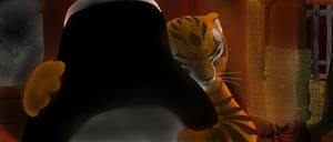 Tigress hugs Po by Betabel1001