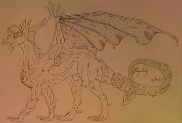 Dragon Kakyoin  by DragonLindy
