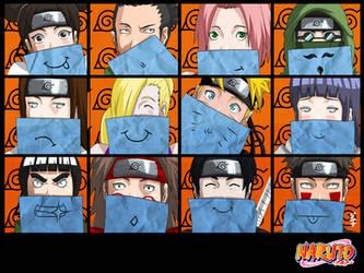 Naruto - SMILEYS by dannex009