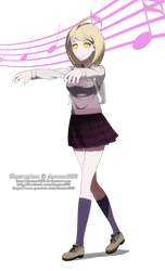 Commission - DanganHypno Kaede by dannex009