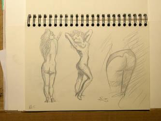 Doodles Studies Sketches10 by CiNiTriQs