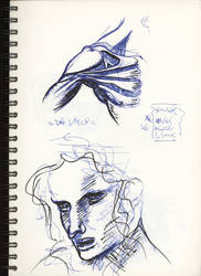 Sketches Studies Da Vinci by CiNiTriQs