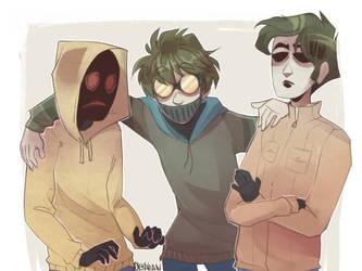  Creepypasta / Slenderverse  Not quite a Family by 0ktavian