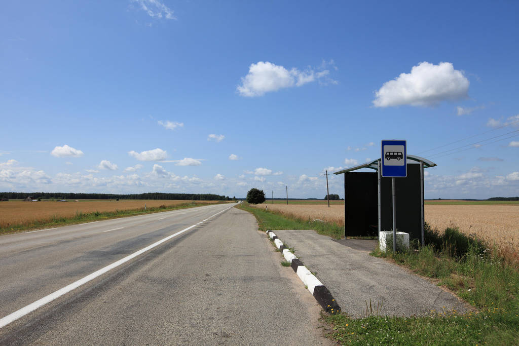 The Bus Stop by Varanas