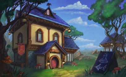 Magic shop by Aryvejd
