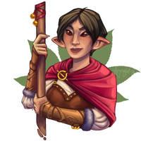 Ashera the Adventurer by Aryvejd