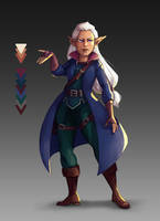 Taira concept art by Aryvejd
