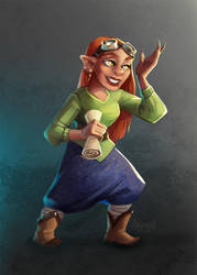 Comission - Roleplay character by Aryvejd