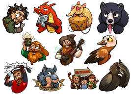 Stickers Lotro Mindon by Aryvejd
