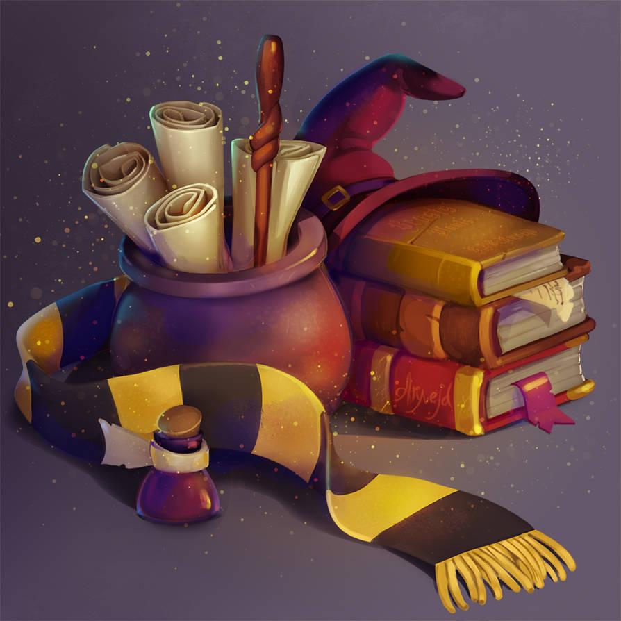 Hogwarts challenge by Aryvejd