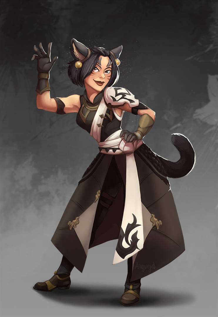 Commission - FFXIV Character by Aryvejd