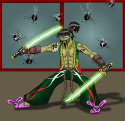 Neo Samurai Hiroki Sugimura IX by thedropkickninja