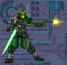 M.S.G36 Arsenal Gundam by thedropkickninja