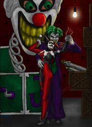 The Joker and Harley Quinn by thedropkickninja