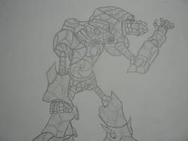 Junk Juggernaut by thedropkickninja