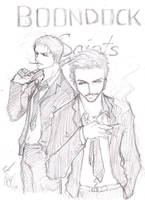 boondock saints by riotycurls