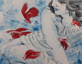 Dreaming of Water by whimandwonder