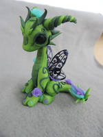 Butterfly rose dragon by Shippochan1000