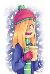 happy yet freezing by marvyanaka