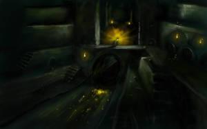 Hyrule Underground by super-fergus