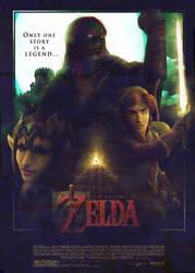 Zelda Movie Poster 2.0 by super-fergus
