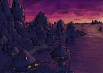 Half-Moon Island by super-fergus