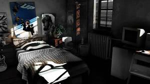 Bedroom - Lighting Challenge by kewel72000