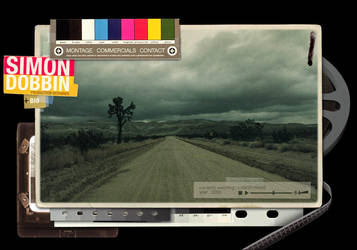 Simon Dobbin Web Concept by ekrem-onemultiplied