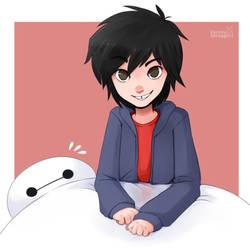 Hiro and B-max by Exceru-Karina