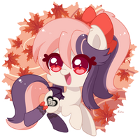 Chibi Autumn Sweet Velvet by Exceru-Karina