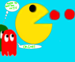 OMG its Pac-Man by mariolvr1996