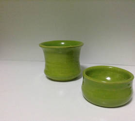 Lime Green Cups by mariolvr1996