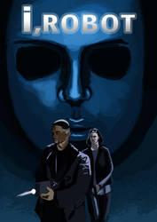 I,Robot - Poster Re-design by TheStolenSky