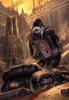 The Last Iron Hand by ameeeeba