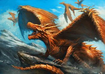 Dragon by ameeeeba