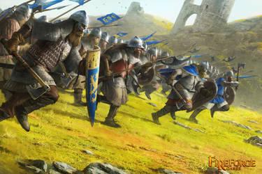 Scandinavian Infantry by ameeeeba