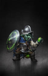 Dax the Goblin by ameeeeba