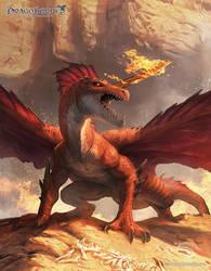 Red Dragon by ameeeeba