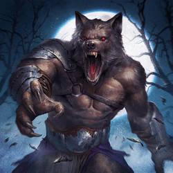 Werewolf by ameeeeba