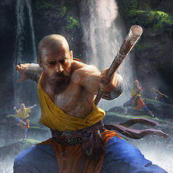 Monk by ameeeeba
