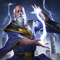 Ancient Sorcerer by ameeeeba