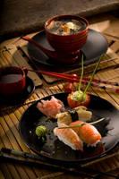 Japanese dinner by Jittike