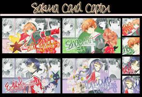 Sakura Card Captor Sets by Cielle-Rose