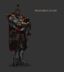 Praetorian Guard by StoryKillinger