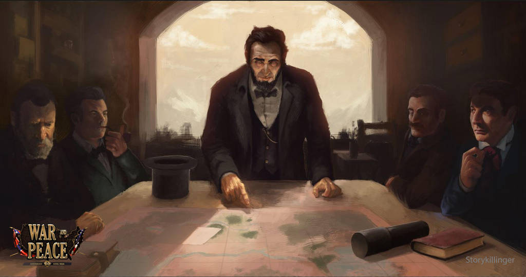 Abraham Lincoln - War and Peace by StoryKillinger