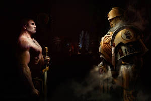Imperial-Fist-Champion by StoryKillinger