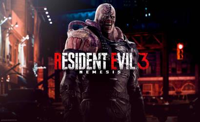 Resident Evil 3 Remake - Wallpaper by FrankAlcantara