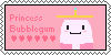 Princess Bubblegum Stamp by 2ButterBall3