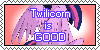 Twilicorn Is good~Stamp by 2ButterBall3