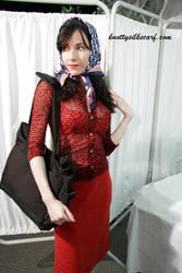 Headscarf - 3 by knottysilkscarf